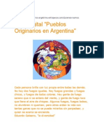 Atlas Digital Pueblos Originarios en Argentina