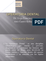 Barrancos Operatoria Dental AstoCastro