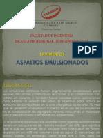 ASFALTOS EMULSIONADOS