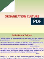 Organization Culture