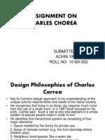 Charles Correa design techniques by ACHIN Boss