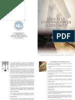 ¿Qué Es La Constitución de Puerto Rico?