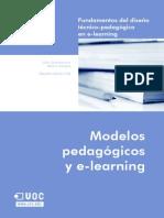 Modelos Pedagogicos y E-learning