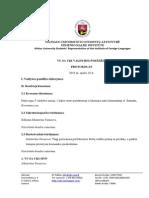 Valdybos 3 posėdžio protokolas
