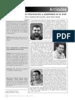 Arquitectura Informacion y Usabilidad