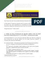 Etica No Servico Publico