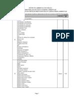 Tabela de Precos Das Analises Reais e UPF 2010