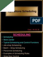 04 05 06 Scheduling