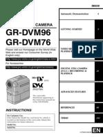 JVC MiniDV Manual