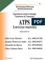 ATPS - Fenomenos de Transporte II