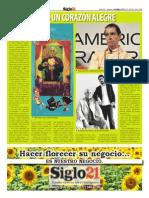 Pelayo y Aramis - Siglo 21 No. 545 -Octubre 14 Al 21 - 2010