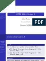 Lec6[1]DerivadaDireccional y Gradiente