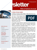 Newsletter T&P N°74