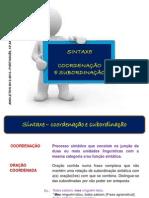 func.língua - orações coordenadas e subordinadas ppt (blog12 12-13)