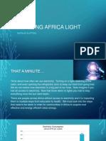 bringing africa light powerpoint