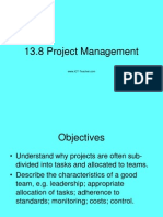 13.8Project Management