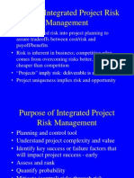 0071466266 Week 1-Integrated Project Risk Management