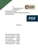 Fuentes de Financiamiento Ejercicio 1