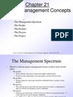 Pressman Ch 21 Project Management Concepts