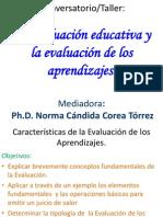 3.1- Tipos de  EVALUACIÓNEducativa  UNN Matagalpa 2013 (1)