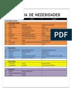 118. Programa de Necesidades-Model