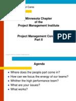 Pm Concepts Part i i
