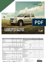Ficha Tecnica Chevrolet Luv Dmax 4x4 2013