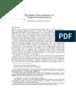 The Quasi-Entrenchment of Constitutional Statutes