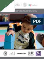 Manual complementario para la aplicación de la Prueba Evaluación del Desarrollo Infantil