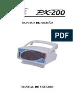 Manual do Usuário Monitor de Pressão PX-200