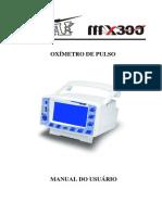 Manual do Usuário Oxímetro de Pulso MX-300