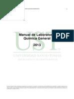 Manual Quimica General 2013