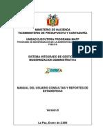 CST EST06 Consultas y Reportes Estadisticos