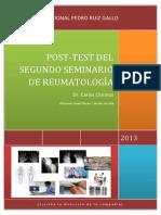 2 Post-Test de Reumato