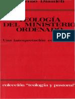 Dianich, S., Teología del ministeri ordenado