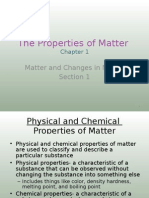1-1 the Properties of Matter