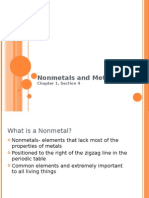 1-4 Nonmetals and Metal Lo Ids