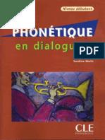 Phonetique en Dialogues. Niveau débutant
