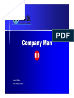 Comapny Man III