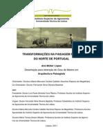 transformações na paisagem rural do norte de portugal