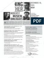 Listening to the Other | Mideast Musical Dialogues (UCLA 2013)