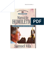 Manual de Homiletica Samuel Vila