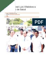 12/11/13 elsoldelistmo Recibe José Luis Villalobos a secretario de Salud