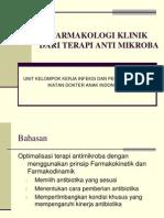 PK PD Antibiotika