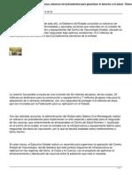 13/11/13 Diarioaxaca Centro de Vacunologia de Oaxaca Esfuerzo Sin Precedentes Para Garantizar El Derecho a La Salud
