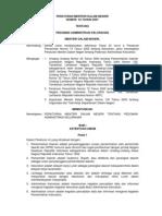 Permen No.34-2007 Pdmn Administrasi Kelurahan