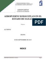Aeropuerto Xoxocotlan Oaxaca