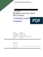 r11i Te040 System Test Script Iprocurement 2