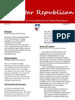 TXFCR October Newsletter