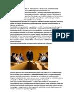 Capacidades y Habilidades de Pensamiento y Tecnicas Del Administrador